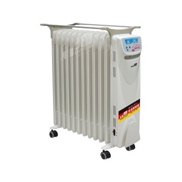 北方 NRD1281 12葉片電子式恆溫電暖爐