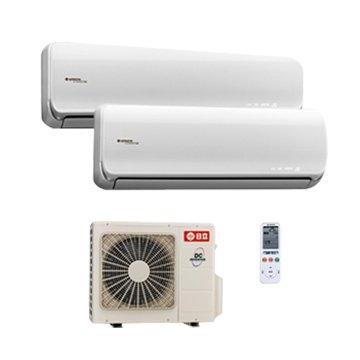HITACHI 日立 變頻分離式一對二冷暖 RAM-50NB/RAS-22NB/RA