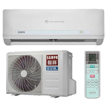 SAMPO AM/AU-PC80DC1 6880K R410A變頻冷暖分離1對1冷氣