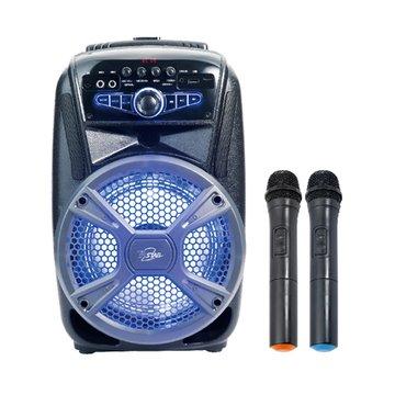 T.C.STAR 連鈺拉桿式藍牙喇叭 附雙無線麥克風 TCS1530