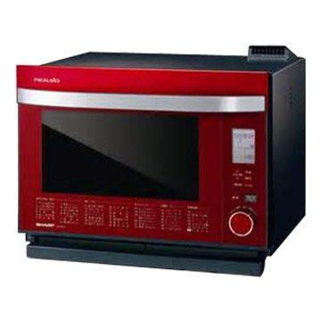 SHARP 夏普 AX-GX2T(R) 31L微電腦變頻水波爐(紅色)(福利品出清)