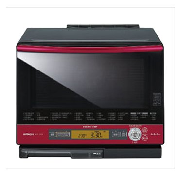 HITACHI 日立 MRO-J200T(R) 蒸氣烘烤微波爐晶鑽紅微波爐