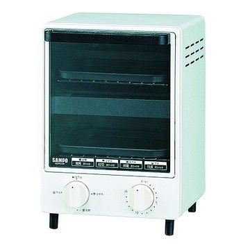 SAMPO 聲寶 KZ-PA12D 12L雙層鏡面直立式定時烘烤箱