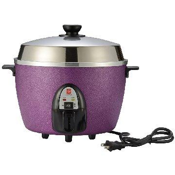 NANYA 南亞 10人份 不鏽鋼配件電鍋 EC-210 紫色