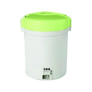大家源 2人份 隨行電子鍋 TCY-3001 綠色(福利品出清)