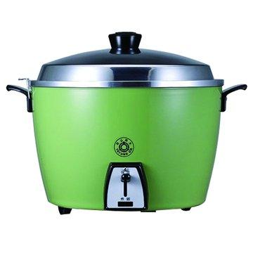 TATUNG 大同 6人份 不鏽鋼電鍋 TAC-06(L)-SG 翠綠色(福利品出清)