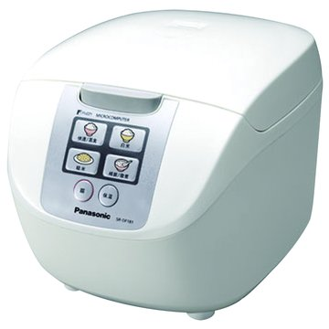 Panasonic  國際牌10人份 微電腦電子鍋 SR-DF181 白色