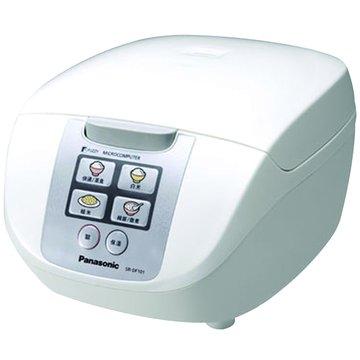 Panasonic  6人份 微電腦電子鍋 SR-DF101 白色