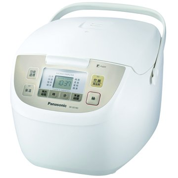 Panasonic  國際牌10人份 微電腦電子鍋 SR-DE183 白色(福利品出清)