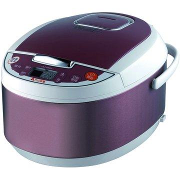 元山 10人份 微電腦電子鍋 YS-510RCM 紫紅色