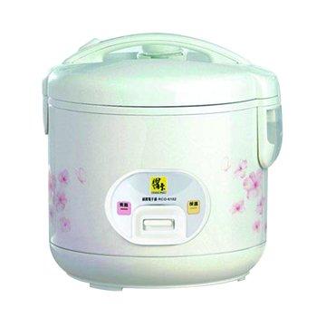 Cook Pot 鍋寶 6人份 機械式電子鍋 RCO-6102 白色(福利品出清)