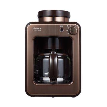 SAMPO 聲寶Siroca SC-A1210CB 自動研磨悶蒸咖啡機