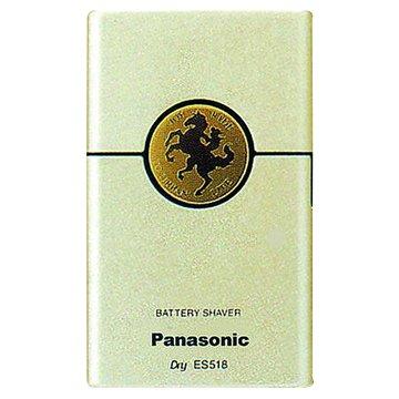 Panasonic  國際牌ES-518-NP 卡片型電池式刮鬍刀