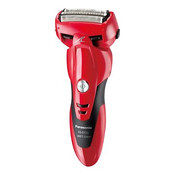 Panasonic 國際牌 ES-ST23 三刀頭充電式電鬍刀(紅)(日製)(福利品出清)