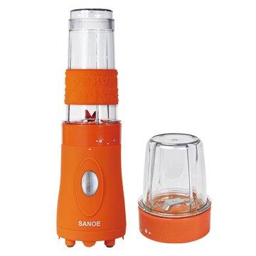 思樂誼 B102 隨行杯果汁機(附研磨杯)-橙色