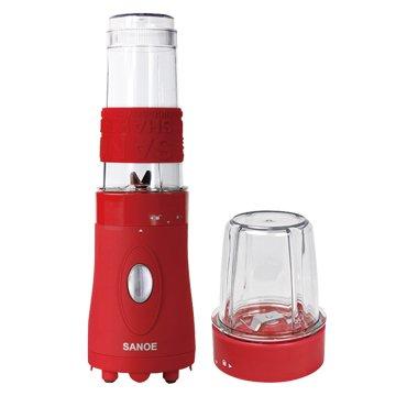 SANOE 思樂誼B102 隨行杯果汁機(附研磨杯)-紅色