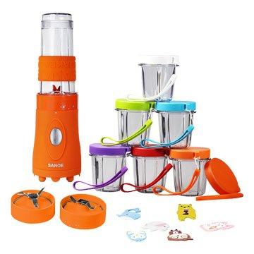SANOE 思樂誼 B103 寶寶調理機-橙色