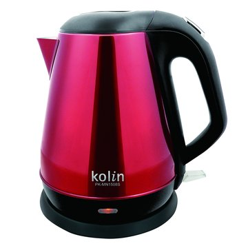 kolin 歌林PK-MN1508S 1.5L晶彩不銹鋼快煮壺(福利品出清)