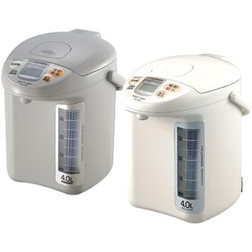 ZOJIRUSHI 象印CD-LGF40 4L微電腦電動熱水瓶 (灰/白)