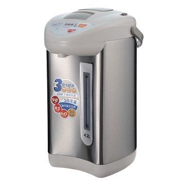 大家源 TCY-2024 4.2L3段定溫3合1給水熱水瓶(福利品出清)