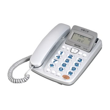 SANLUX 台灣三洋 TEL-906來電顯示電話機