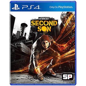 SONY 新力牌 PS4 惡名昭彰:第二之子 中文版