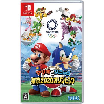 Nintendo 任天堂NS 瑪利歐  索尼克 AT 東京奧運 中文版