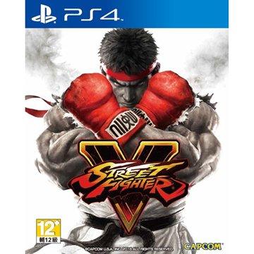 SONY 新力牌 PS4 快打旋風 5 中文版