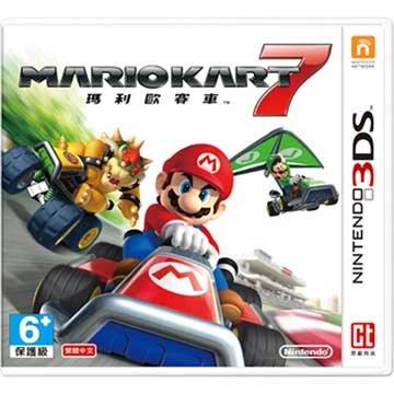 Nintendo 任天堂3DS 瑪利歐賽車 7 中文版 (中文機專用)