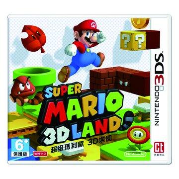 Nintendo 任天堂3DS 超級瑪利歐3D樂園 (中文機專用)