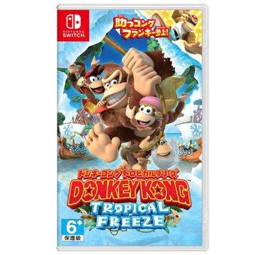 Nintendo 任天堂 NS 大金剛:熱帶急凍 日英文合版