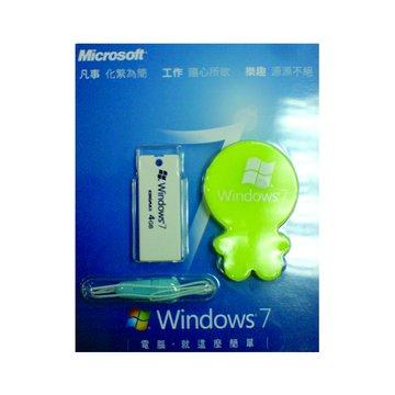 KINGMAX 勝創 Windows7 上市紀念小綠人4G隨身碟