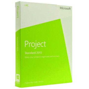 Microsoft 微軟 Project 2013 中文盒裝版(無光碟)