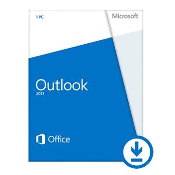 Microsoft 微軟 Outlook 2013 英文-數位下載版