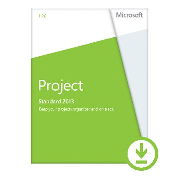 Microsoft 微軟 Project 標準版 2013 英文-數位下載版