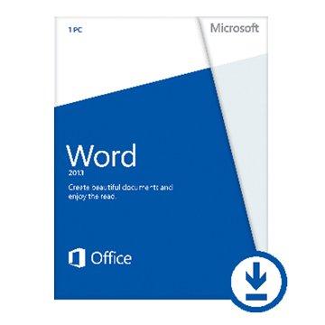 Microsoft 微軟 Word 2013 英文-數位下載版