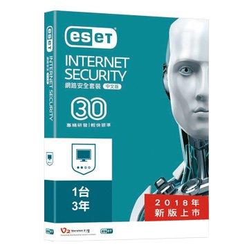 ESET NOD32 ESET 網路安全套裝(11.0) 1台3年