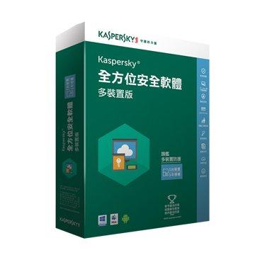 KASPERSKY 卡巴斯基 全方位安全(多裝置)2016 1台1年