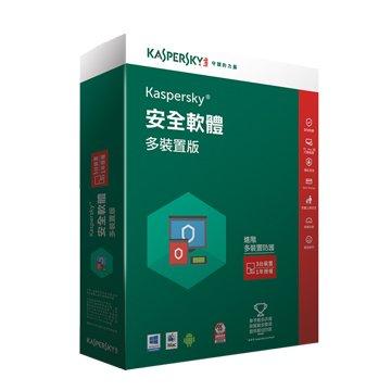 KASPERSKY 卡巴斯基 網路安全(多裝置)2016 3台1年