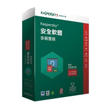 KASPERSKY 卡巴斯基 網路安全(多裝置)2016 3台2年