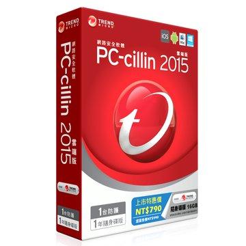 TREND 趨勢 PC-cillin 2015 標準一年一台 隨身碟版