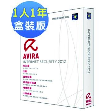 AVIRA 小紅傘 小紅傘 網路安全大師 2012中文1人1年